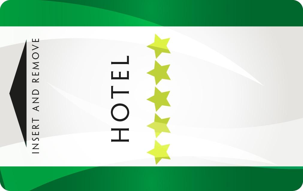 Plastic Hotel Key Cards